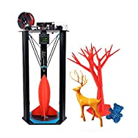 TEVO Little Monster 3D Printer DIY Kit Adopt for Smoothieware/ MKS TFT28 Touch Screen /BLTouch Auto Leveling /Titan Extruder High Speed Printing w/ Heatbed With Aibecy Cleaning Cloth from TEVO