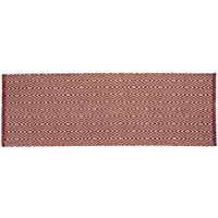 Chesapeake Merchandising Portland Diamond Runner, 22 x 60, Red
