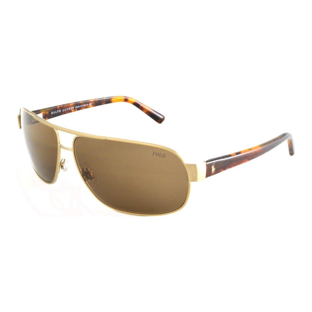 Ralph Lauren Gafas de Sol Polo PH3066 BRUSCHED PALE GOLD - BROWN ...