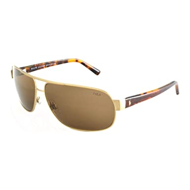 Ralph Lauren Gafas de Sol Polo PH3066 BRUSCHED PALE GOLD - BROWN ...