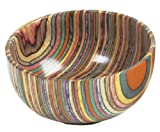 Norpro Colored Wood Bowl, 3-Cups, 24-Ounces