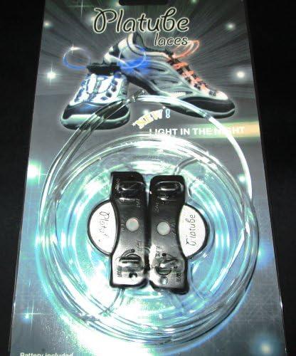 注目浴びる「LEDで光る靴ひも」選べるカラバリ 16色 点灯は 3パターン 夜間のウォーキング、犬の散歩、クラブやフェスに (レインボー)