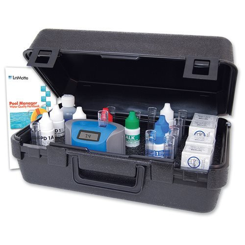 Lamotte ColorQ Pro 11 Digital Liquid Pool and Spa Chemical Water Testing Kit