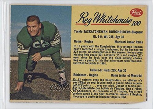 ded COMC Poor to Fair (Football Card) 1963 Post CFL - [Base] #100 ()