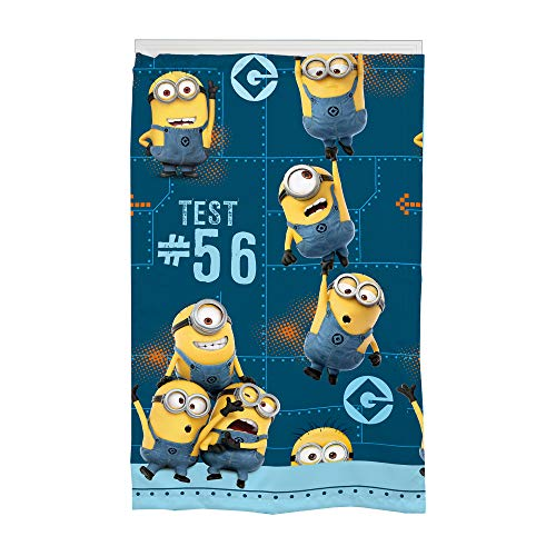 Universal Despicable Me Minions Kids Room Darkening Window Curtain Panel, 42