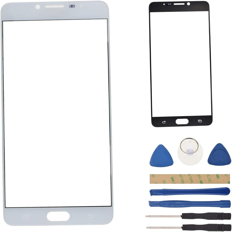 Repuesto de Pantalla Exterior de Cristal SM-C9000 Compatible con Samsung Galaxy C9 Pro SM-C9000: Amazon.es: Electrónica