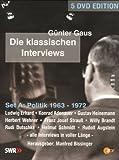 Günter Gaus - Die klassischen Interviews: Politik 1963 - 1972 (5 DVDs)