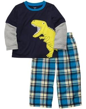 Boys Jersey Pajama Set (2 Piece)