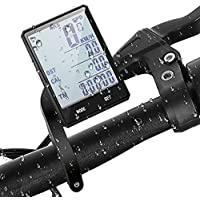 Wireless Bicycle Computer, Bike Speedometer with 2.8 Inch...