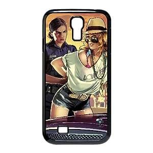 Funda Samsung Galaxy S4 9500 caja del teléfono celular Negro Funda de Grand Theft Auto H4P2TD