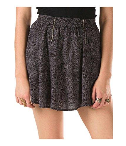 (Vans Womens Webster Mini Skirt Black)