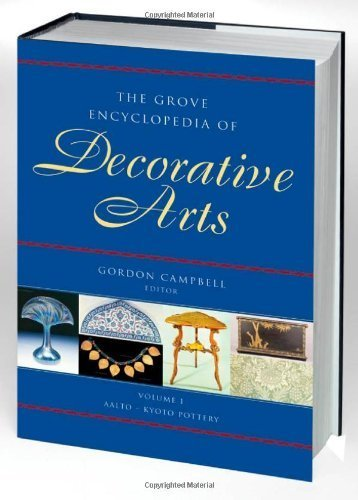The Grove Encyclopedia of Decorative Arts: 2 volumes: print and e-reference editions available by Campbell, Gordon (2006) Hardcover (Maple Red Rock Grove)
