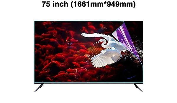 DPPAN 75 Pulgadas TV Protección de Pantalla para Televisor, Ultra ...
