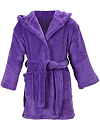 Simplicity Children Pool Coverup Boys Girls Bath Pool Coverup and Cover up,Purple,7-10 Years
