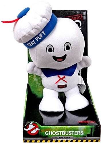 Ghostbusters Classic Stay Puft Marshmallow Man 11 Talking Plush ()