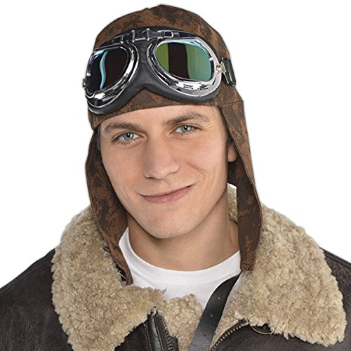 Aviator Hat With Goggles (Aviator Hat And Goggles)