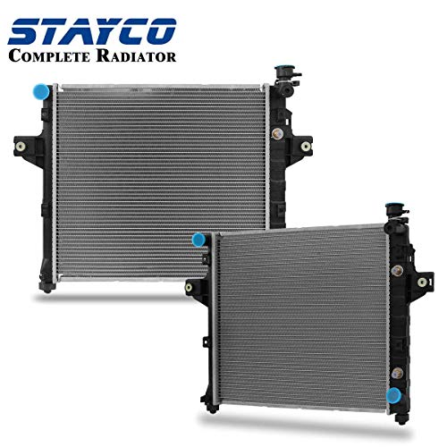 CU2263 Radiator Replacement for Jeep Grand Cherokee 1999 2000 V8 4.7L