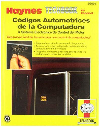 Códigos Automotrices de la Computadora Spanish Repair Manual (98905)
