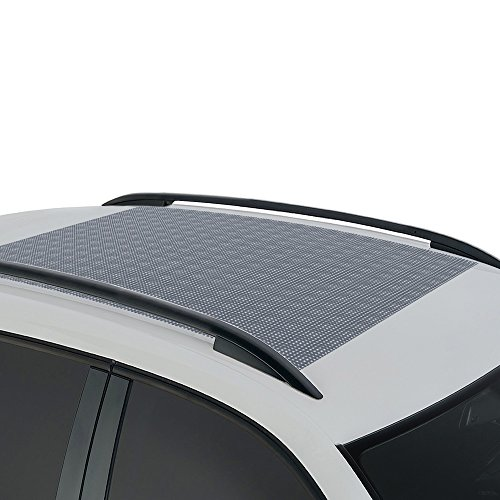 BDK Anti-Slip Rooftop Cargo Mat Protective Liner for Roof Cargo Bags - Rubber Grip Non-Adhesive Scratch-Proof Cushioned Layer ()