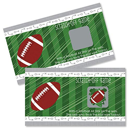 Football Birthday Ideas - Big Dot of Happiness End Zone