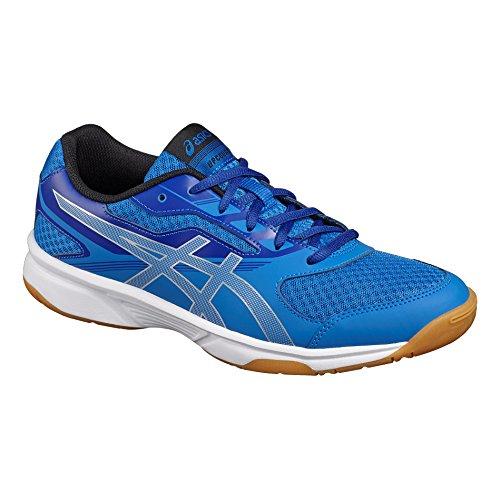 Asics Upcourt 2, Zapatos de Voleibol para Hombre Azul (Classic Blue/silver/asics Blue)