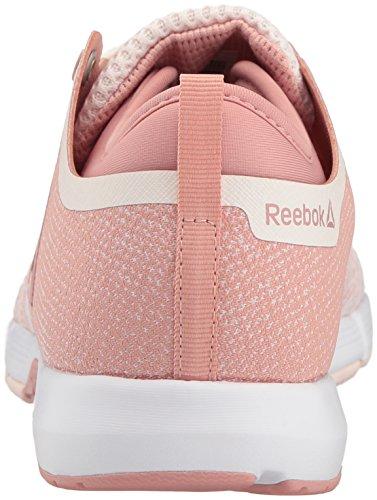 Reebok Kvinders Nåde Tr 2,0 Sneaker Bleg Lyserød / Kridt Lyserød / Hvid / Sølv