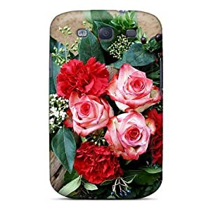 For SamSung Note 2 Case Cover Hard Phone (gorgeous Bouquest Of Roses)