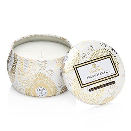 Voluspa Nissho Soleil Limited Decorative Mini Tin Candle, 4 Ounce by Voluspa