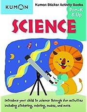 Kumon Pre K & Up Science Sticker Activity Book