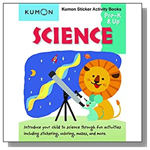 Science Sticker Activity Book (Kumon Sticker and Activity) (Kumon Sticker Activity)