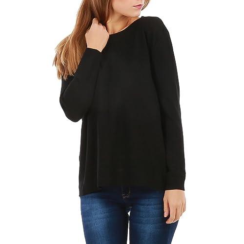 La Modeuse –  Maglione  – Donna nero Taglia unica