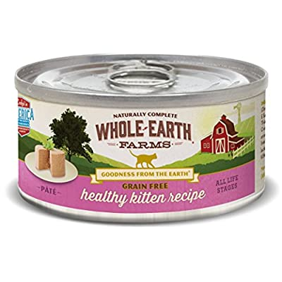 Cat Food Whole Earth Farms Grain Free Wet Cat Food with Variety Pack (Case... [tag]