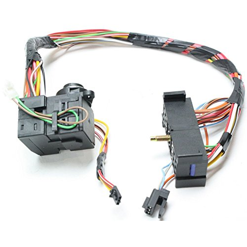 Ignition Switch compatible with Chevrolet C/K Full Size Pickup 98-01 3 Electrical Connectors 23 Terminals Male Connector