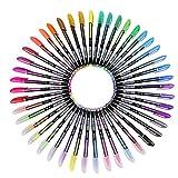 Legros Pastel Glitter Colored Gel Pen Drawing Writing Marker Pen School Office