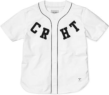 Carhartt WIP – Camiseta de Béisbol para Hombre blanco Medium: Amazon.es: Ropa y accesorios