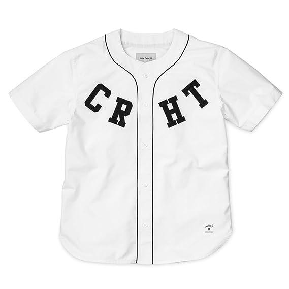 Carhartt WIP - Camiseta de Béisbol para Hombre  Amazon.es  Ropa y accesorios 79520dfca829