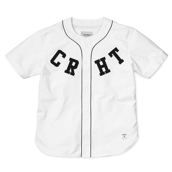 Carhartt WIP - Camiseta de Béisbol para Hombre: Amazon.es: Ropa y accesorios