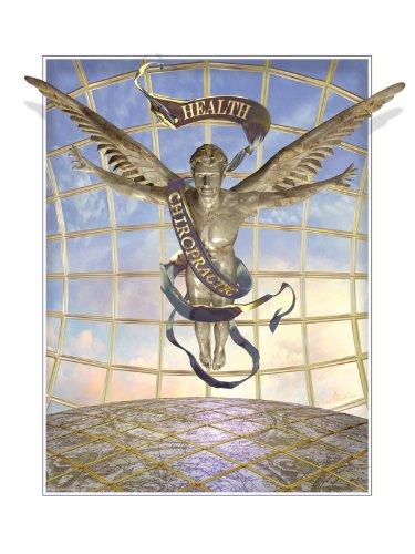 Medical Art Visionary Chiropractic Caduceus Emblem Print Poster