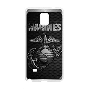 Marines Fashion Comstom Plastic case cover For Samsung Galaxy Note4
