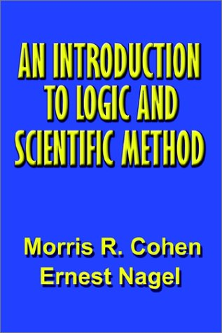 Books : An Introduction to Logic and Scientific Method