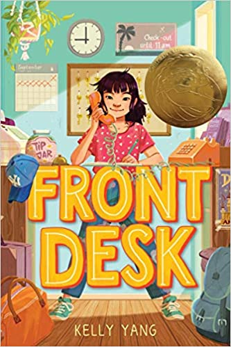 Cover art for the book entitled Front Desk