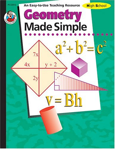 Read Online Geometry Made Simple, Grades 9 to 12 ebook