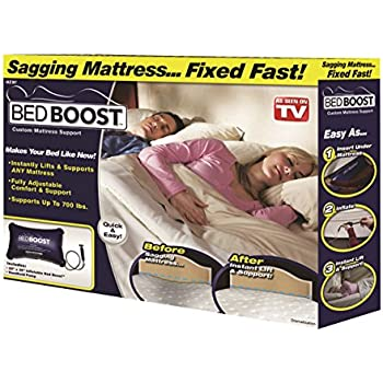 Bed Boost Mattress Support   Fast Fix For A Sagging Mattress