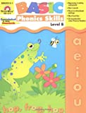 Evan-Moor Basic Phonics Skills for Grades K-1, Level B, Teacher Reproducible Pages; Teaching Resource Workbook; Reader