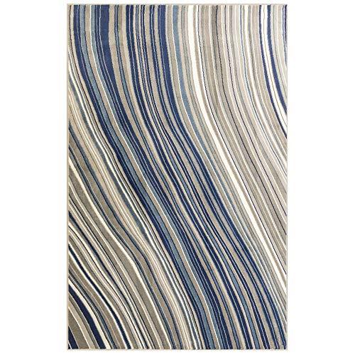 M by Liora LA258B91033 Crescent Geometric Pacific Waves 4