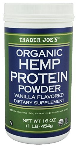 Trader Joe's Organic Hemp Powder Protein Vanilla Flavored Dietary Supplement 16oz