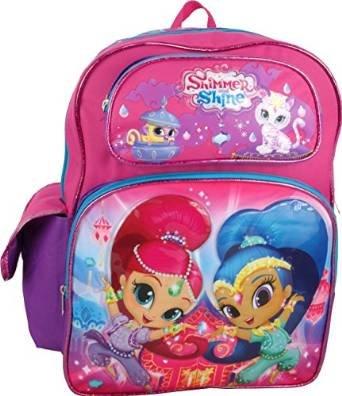 Backpack - Shimmer and Shin - Pink Girls 16 School Bag New 680824 Ruz 00_IOVFF082_J0