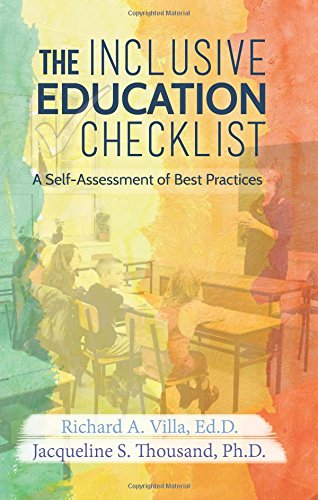 The Inclusive Education Checklist: A Self-Assessment of Best Practices