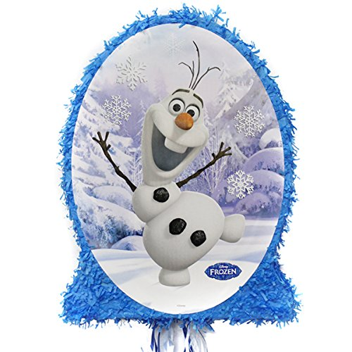 Olaf Party Pinata with Pull Strings, One -