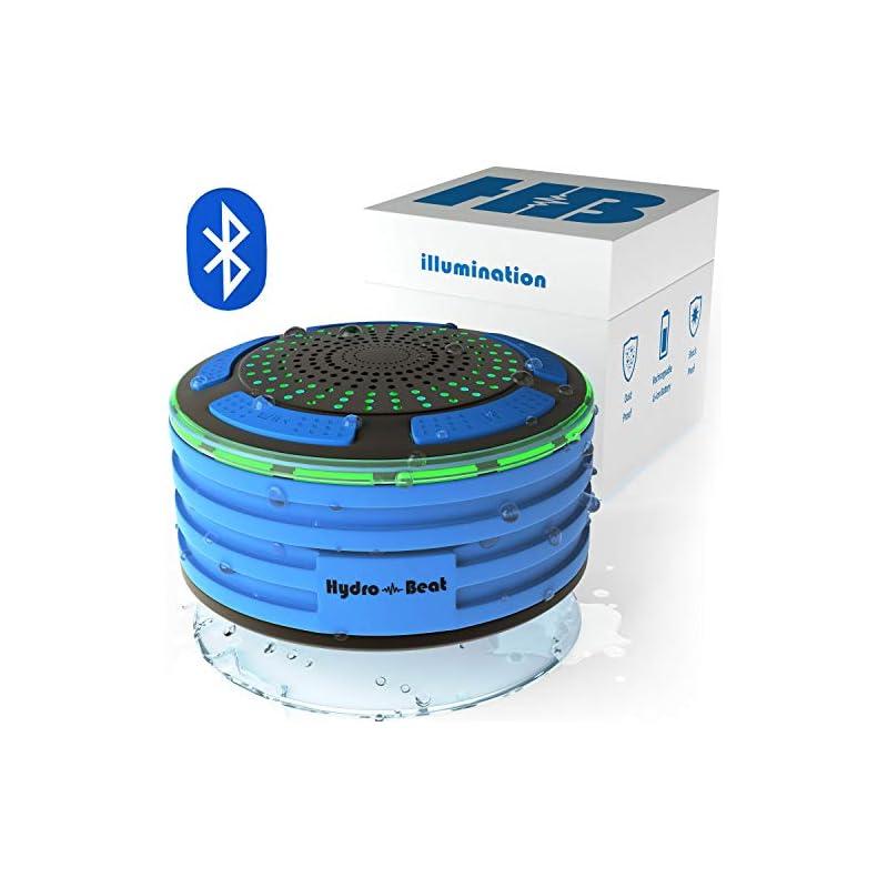 Bluetooth Portable Waterproof Shower Rad